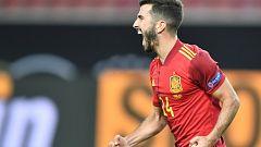 Gayá empata en el tiempo de descuento (Alemania 1-1 España)