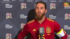 """Sergio Ramos: """"El equipo ha dado la cara"""""""
