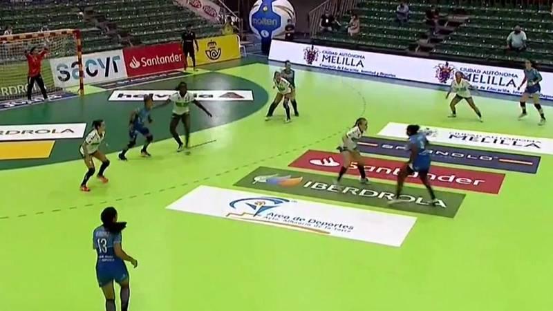 Balonmano - Copa de la Reina 1/4 final: Super Amara Bera Bera - Elche Vistelche.com - ver ahora