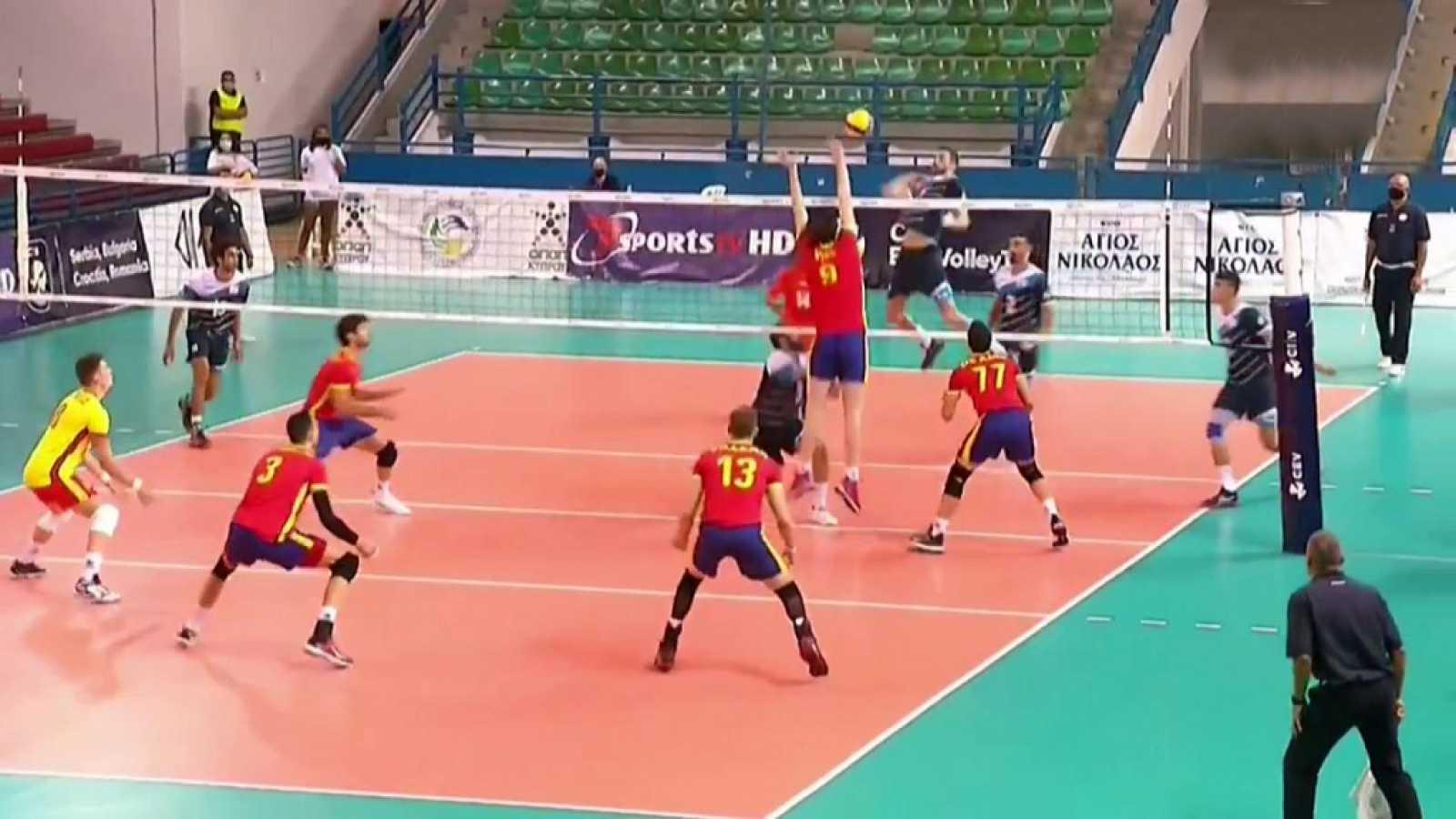 Voleibol - Clasificación Campeonato de Europa masculino: Chipre - España. Desde Nicosia (Chipre) - ver ahora