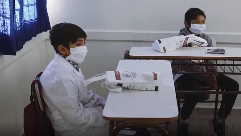 Argentina inicia el regreso a las aulas de forma voluntaria