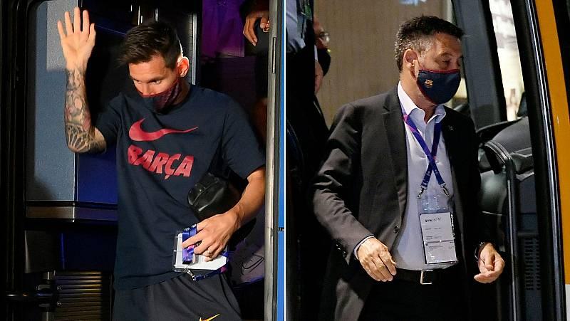 Vídeo: El mensaje que lanza Messi, el club le retiene en contra de su voluntad