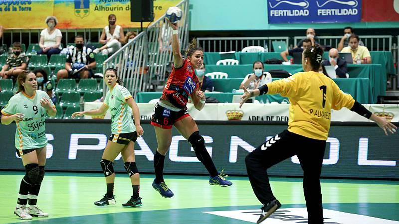 Balonmano - Copa de la Reina. 1ª semifinal: Liberbank Gijón - Rincón Fertilidad Malága. Desde Alhaurín de la Torre (Málaga) - ver ahora