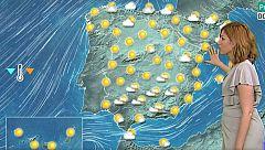 Tormentas en Cataluña que preceden a una DANA este lunes