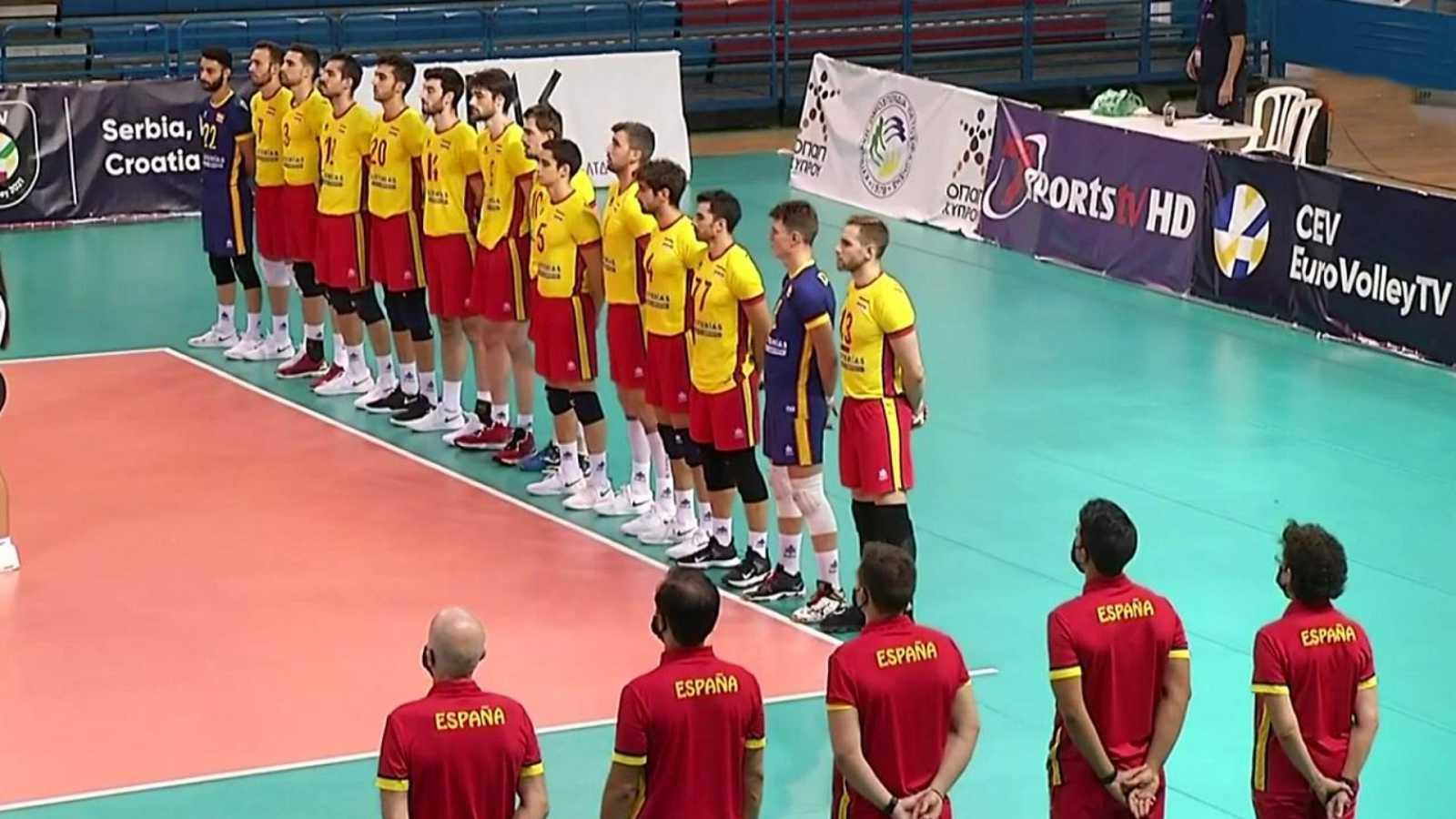 Voleibol - Clasificación Campeonato de Europa masculino: Letonia-España. Desde Nicosia (Chipre) - ver ahora