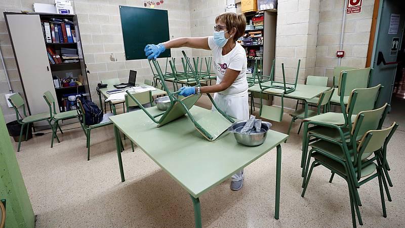 Los comedores escolares, clave en la vuelta a las aulas en plena pandemia