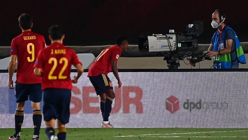 Vídeo: Las mejores jugadas de Ansu Fati en el España 4-0 Ucrania
