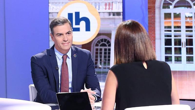 """Sánchez: """"Esperamos que en diciembre podamos empezar a vacunar a una parte de la población"""""""