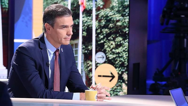 """Sánchez admite que los niveles de contagio en España son """"muy similares"""" a los de abril"""