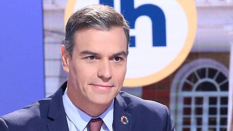 Sánchez aborda la crisis del coronavirus, la negociación de los Presupuestos y la situación política en La Hora de La 1