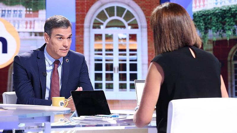 """Sánchez dice que reformará el delito de sedición del Código Penal y pide """"empatía"""" con la sociedad catalana"""