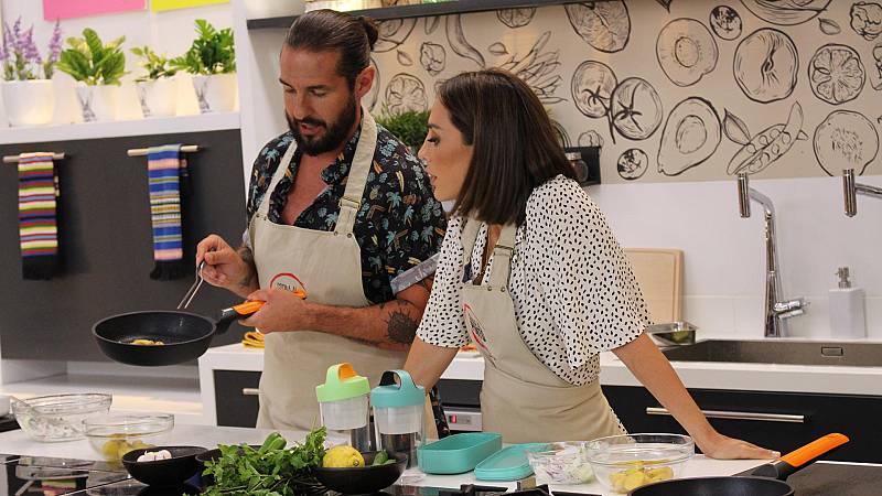 Cocina al punto con Peña y Tamara - Algas. Fiambreras para la playa - ver ahora