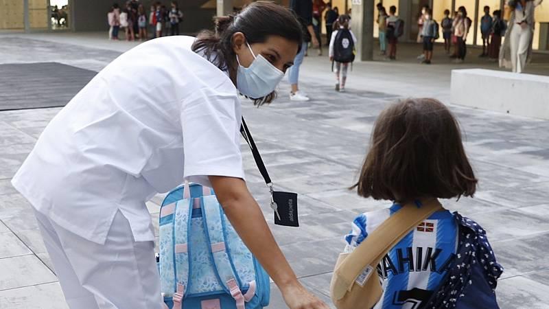 Las enfermeras escolares reivindican su labor y piden coordinar lo relativo al COVID en los centros