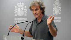 Especial informativo - Coronavirus. Comparecencia de Fernando Simón - 07/09/20