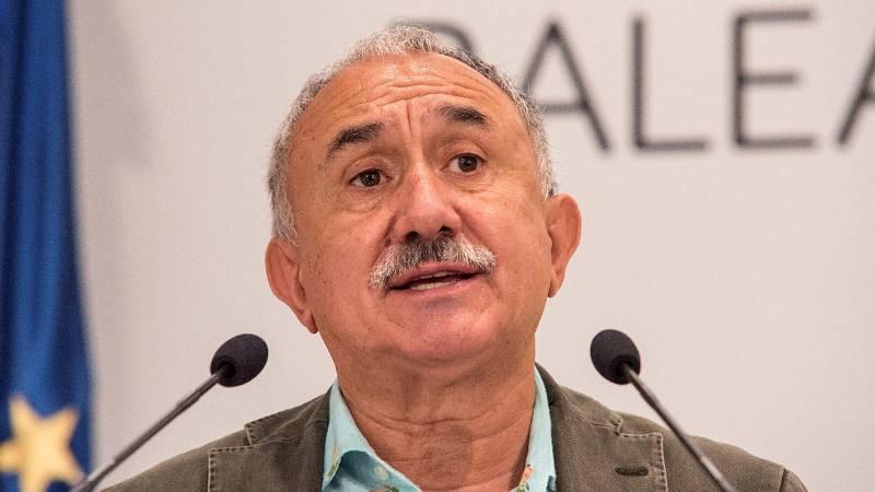 """Pepe Álvarez (UGT): """"Los ERTE no deben limitarse sectorialmente"""""""