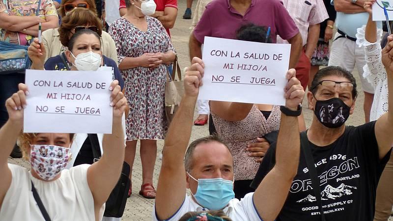 Familias se oponen a la vuelta al cole por miedo al coronavirus