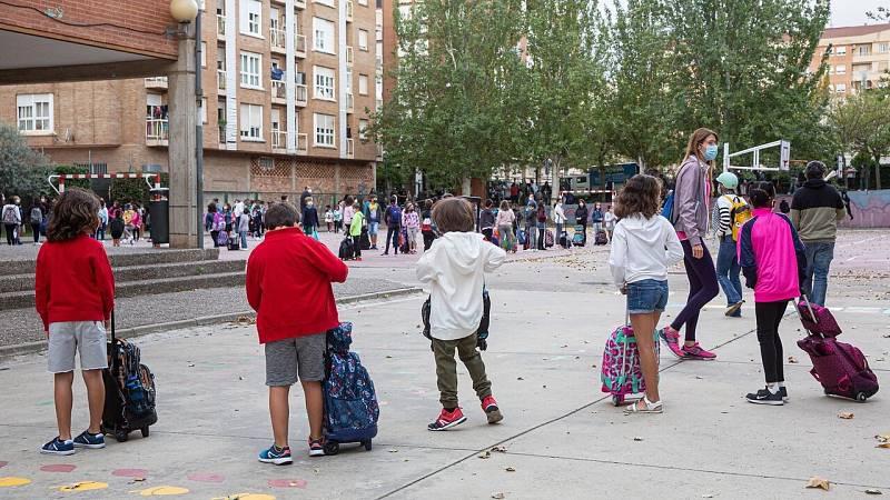 La salidad de clase, otro de los retos para los colegios ante la COVID-19