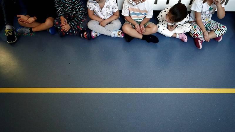 Preocupa el impacto de la vuelta a las aulas mientras España sigue en fase ascendente de casos