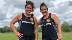 Patricia García y Laura Delgado, dos leonas en el Exeter