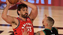 Los Celtics y los Clippers toman ventaja con los Raptors y los Nuggets