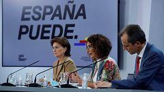 """María Jesús Montero: """"Las conversaciones entre Sánchez e Iglesias son privadas"""""""