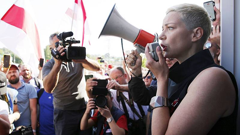 La policia bielorrusa detiene a Kolesnikova, la última líder de la oposición a Lukashenko