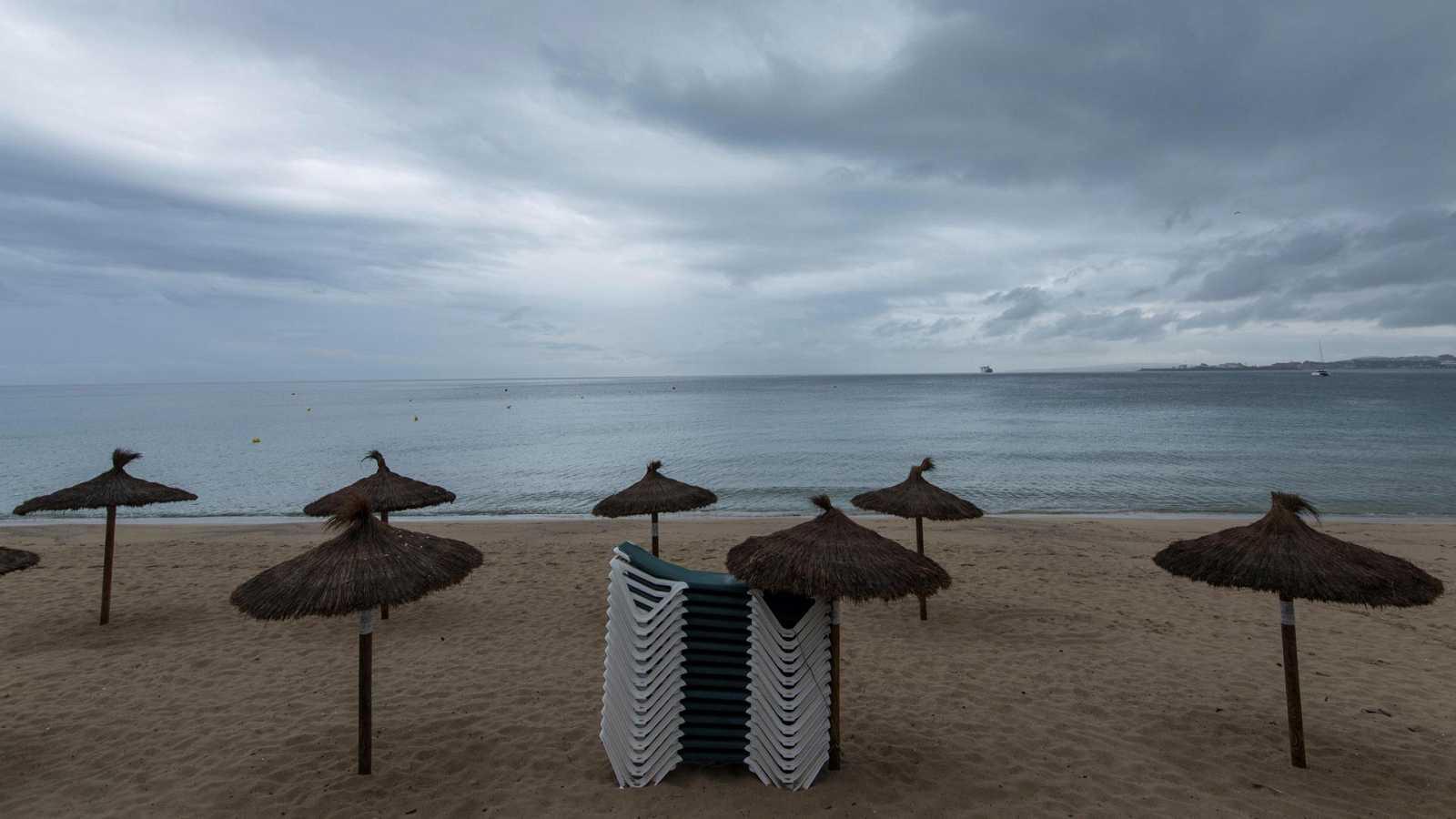 Chubascos y tormentas localmente fuertes en Baleares - Ver ahora