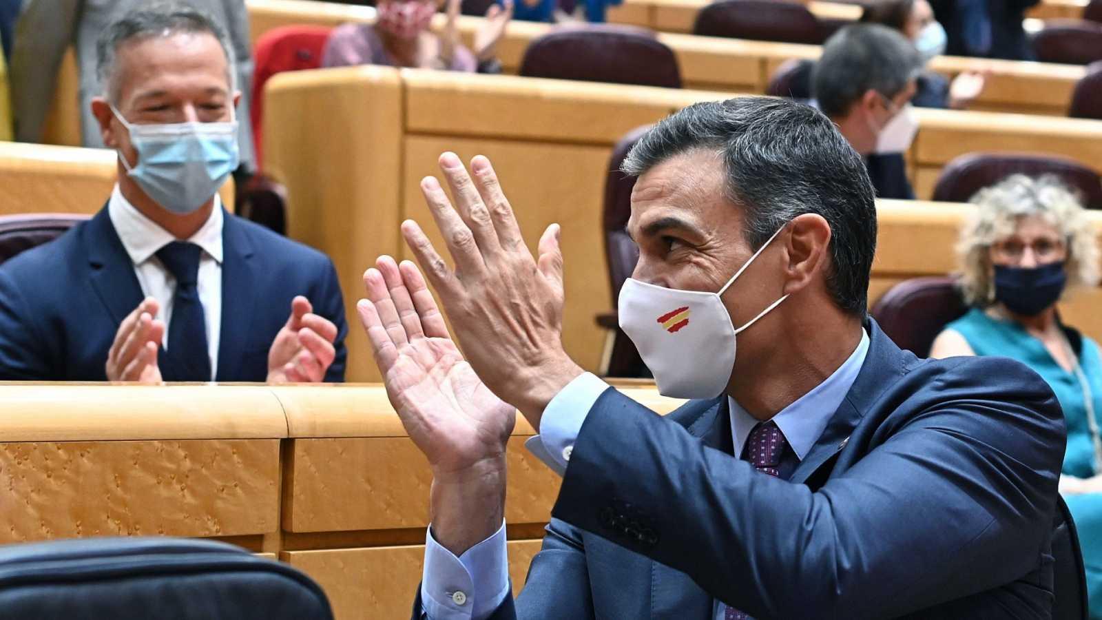 La corrupción centra el rifirrafe entre Sánchez y el PP en el Senado