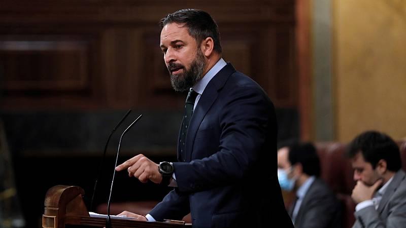 """Abascal: """"Son ustedes una catástrofe con patas para España, preside el peor Gobierno de nuestro país en 80 años"""""""