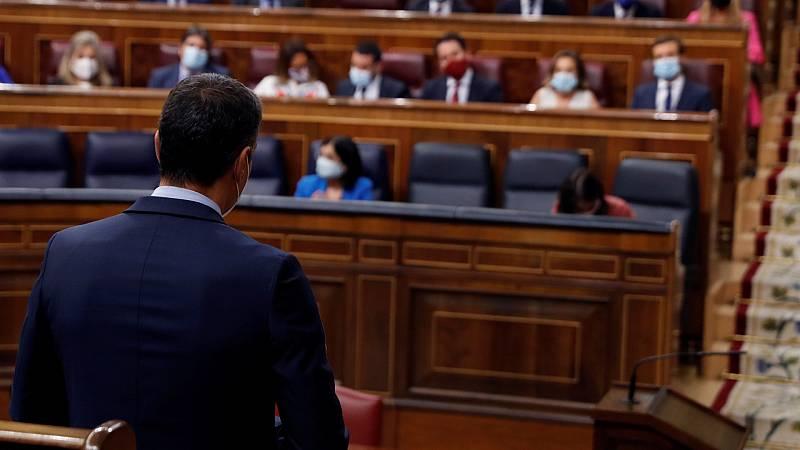 Sánchez acusa al PP de no cumplir la Constitución