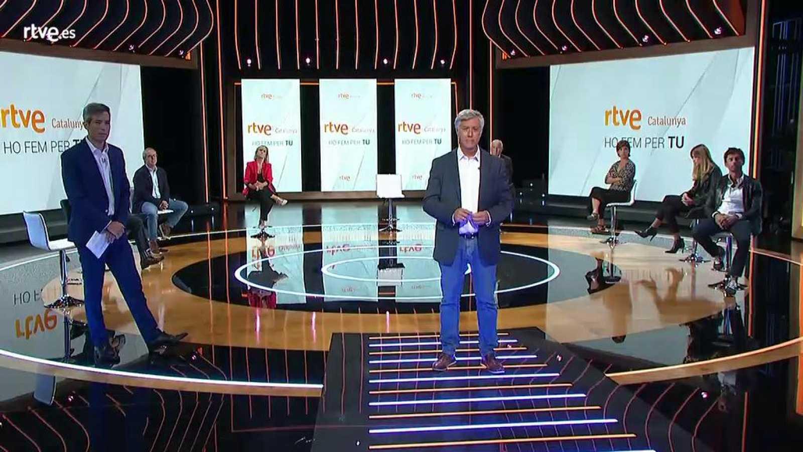 RTVE Catalunya - Roda de premsa, presentació nova temporada  2020-21