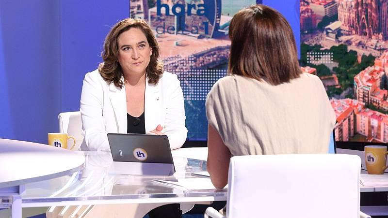 """Colau cree """"necesarias"""" unas nuevas elecciones ya en Cataluña y acusa a la Generalitat de """"no gestionar"""""""