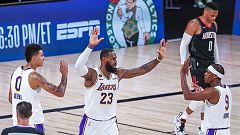 Los Lakers toman ventaja y Miami alcanza las finales del Este