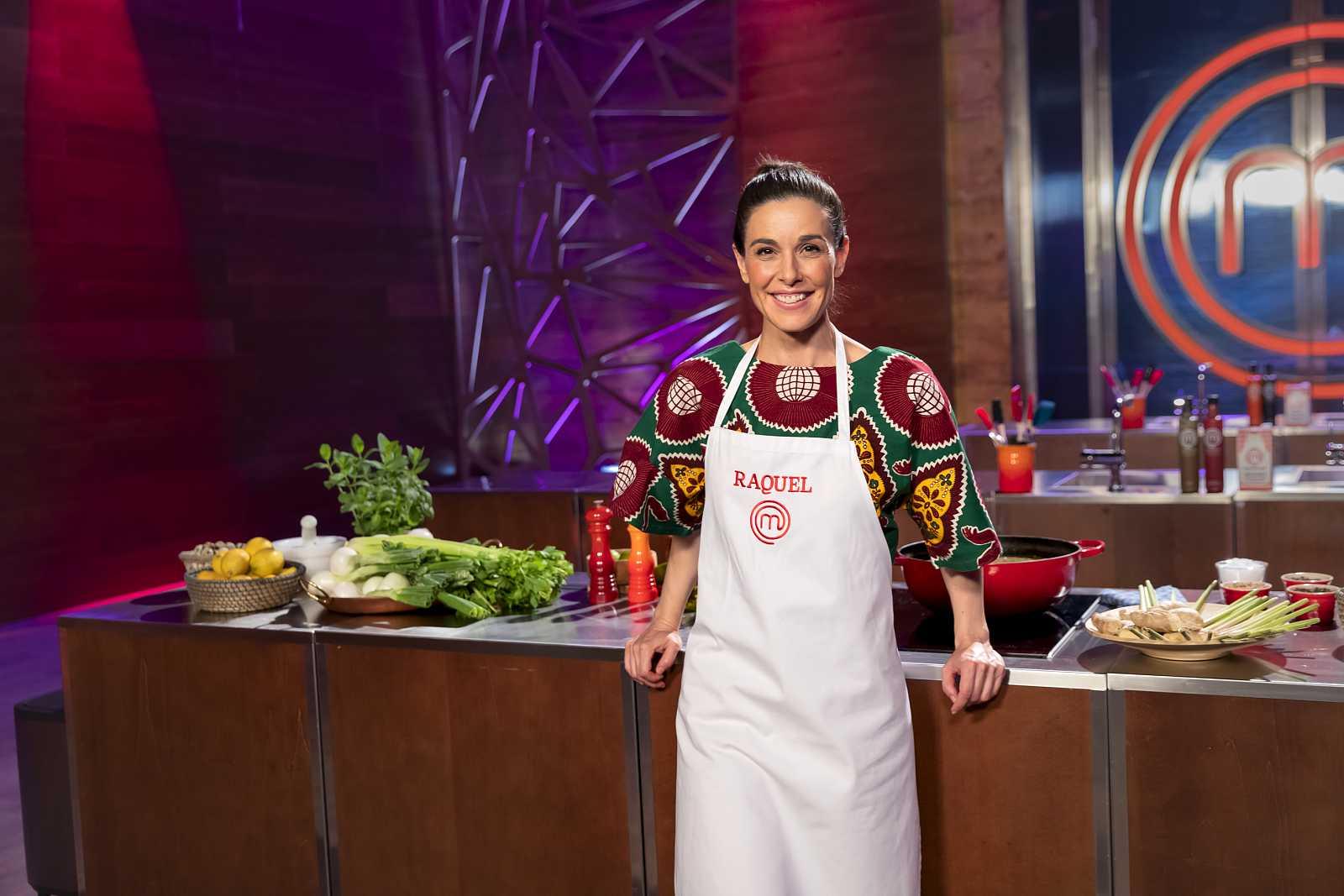 Raquel Sánchez Silva, concursante de Masterchef Celebrity 5