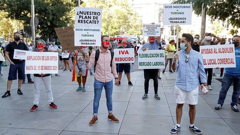 Los hosteleros reclaman un plan de rescate para el sector ante la crisis del coronavirus