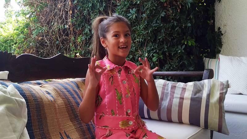 Conoce a Soleá, la candidata de España en Eurovisión Junior 2020
