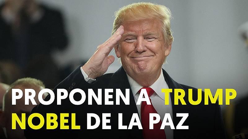 Proponen a Trump como Nobel de la Paz