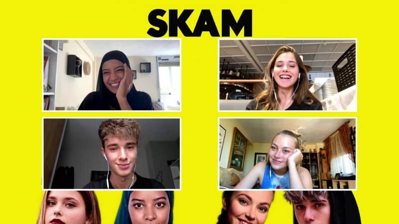 El Hype - Hajar Brown, Irene Ferreiro, Nicole Wallace y Alejandro Reina sobre la última temporada de 'Skam'
