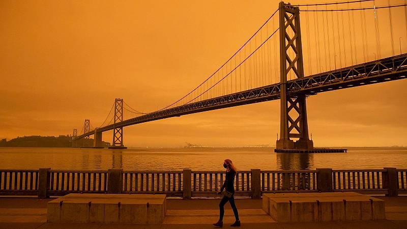 Más de 40 incendios activos disparan las alarmas en la peor temporada en California