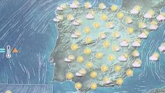 Este jueves, tiempo estable en toda España, salvo chubascos y tormentas en Mallorca y Menorca