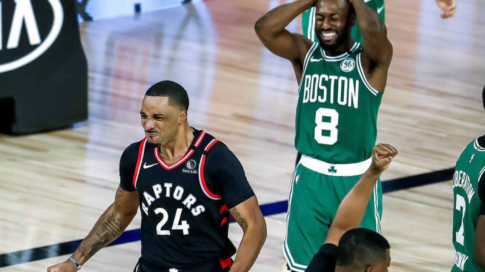 Los Raptors igualan la serie con los Celtics