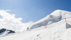 El esquí alpino, snowboardcross y freeski español ya entrena en Saas Fee