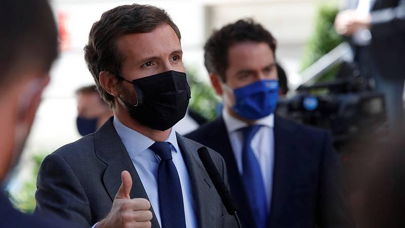 """Casado achaca el fracaso parlamentario del Gobierno a su """"arrogancia e incompetencia"""" para llegar a acuerdos"""