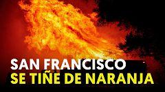 Más de 40 incendios arrasan Callifornia
