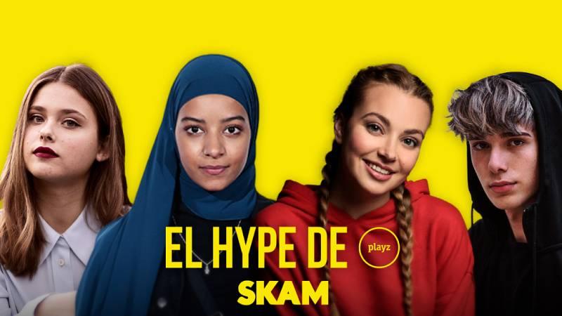 El Hype - Los protagonistas de 'Skam' analizan su impacto tras rodar la última temporada