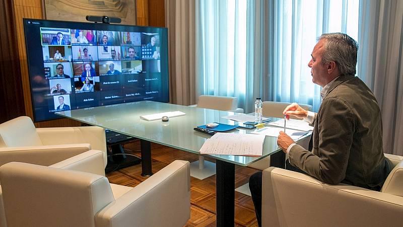 """Jorge Azcón, alcalde de Zaragoza: el decreto del superávit municipal del Gobierno """"era injusto"""""""