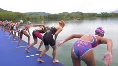 Triatlón - Campeonato de España Relevos mixtos. Prueba Banyoles: resumen