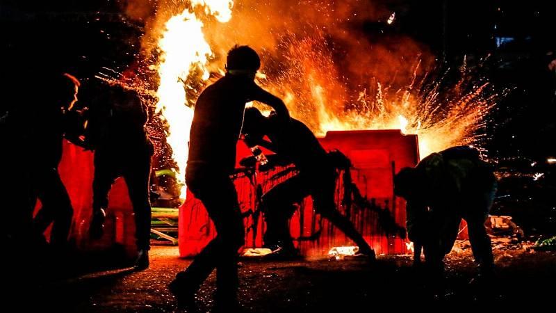 Colombia vive su segunda noche de protestas violentas contra la brutalidad policial