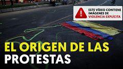 El video de la detención de Javier Ordoñez, origen de las protestas en Colombia contra la brutalidad policial