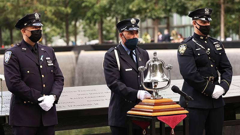 Homenaje a las víctimas del 11-S en el 19 aniversario de los atentados terroristas